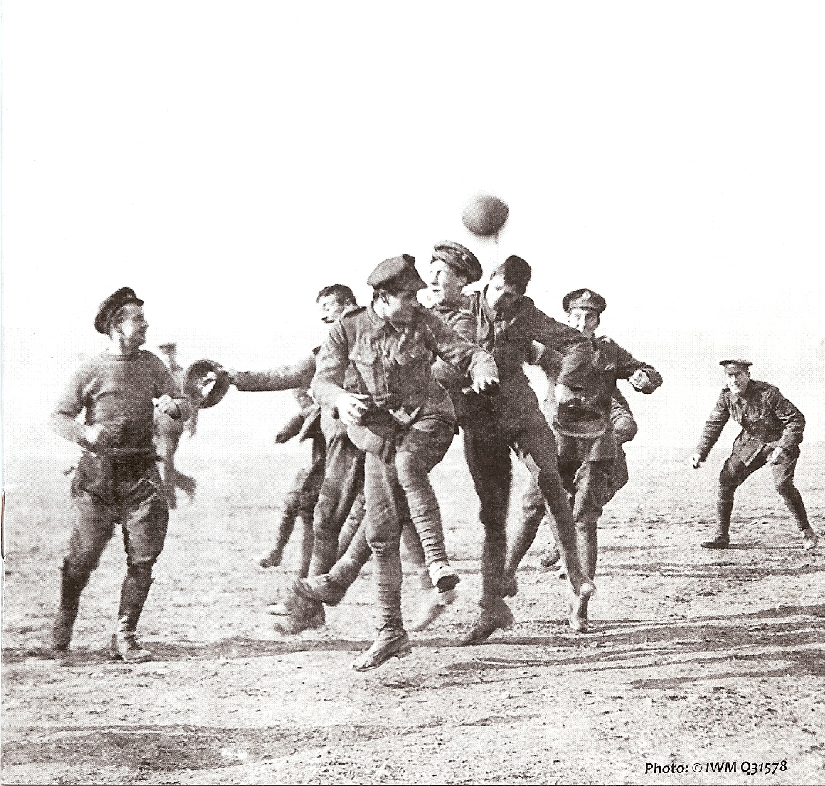 The Real Story behind the Christmas Truce 1914